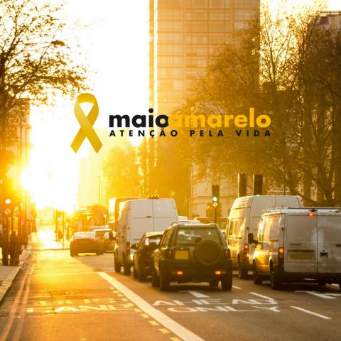 Maio amarelo: Faça a diferença no trânsito