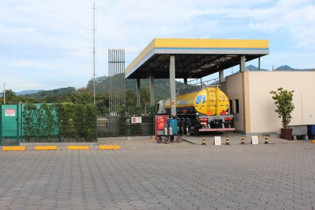 Estação de recebimento: Combustível de qualidade